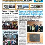 Nuestras actividades de 2017 en el periódico Gens Ligustica in Orbe